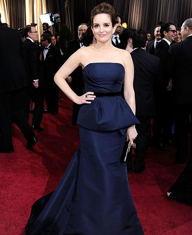 Tina Fey 2012 Oscars Best Dressed