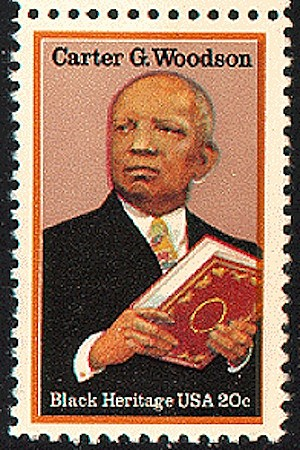 Carter Woodson stamp
