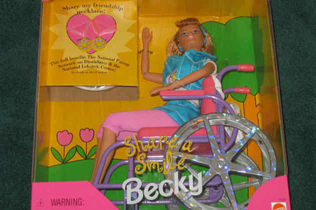 Barbie's friend Becky
