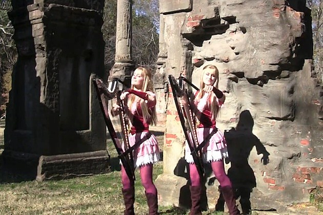 HARP TWINS camille and kennerly zelda skyward sword battle of the goddess