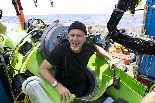 James cameron submarine