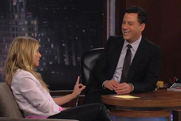 Kristen Bell Jimmy Kimmel