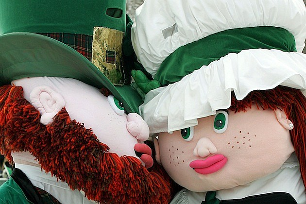 Chicago Celebrates St. Patricks Day With 50th Annual Parade leprechauns