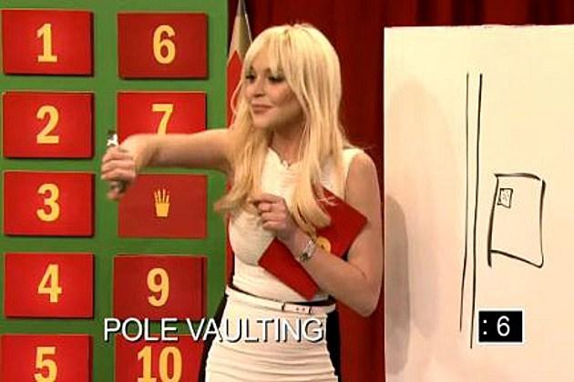 Lindsay Lohan pictionary