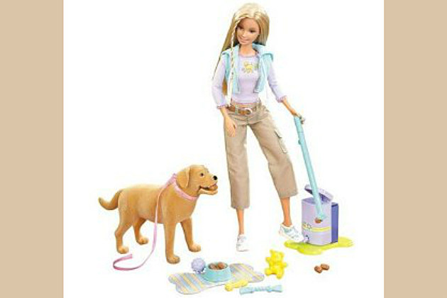 Poop Scooping Barbie