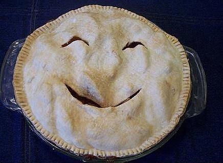 Smiling pie