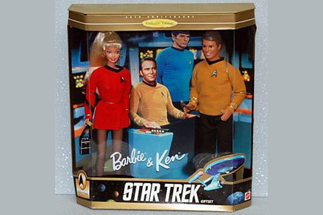 Star Trek Barbie & Ken