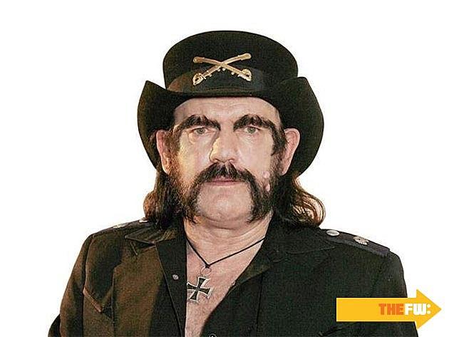 Lemmy Mustache Eyebrows