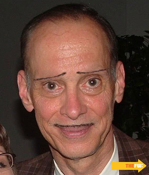 John Waters Mustache Eyebrows