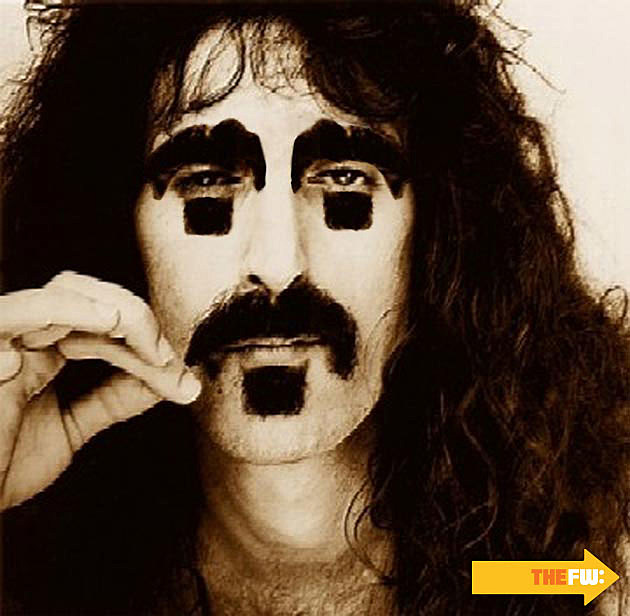 Frank Zappa Mustache Eyebrows