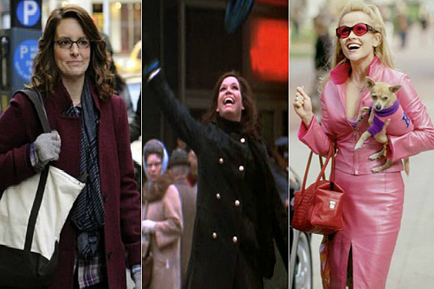 Liz Lemon, Mary Richards and Elle Woods