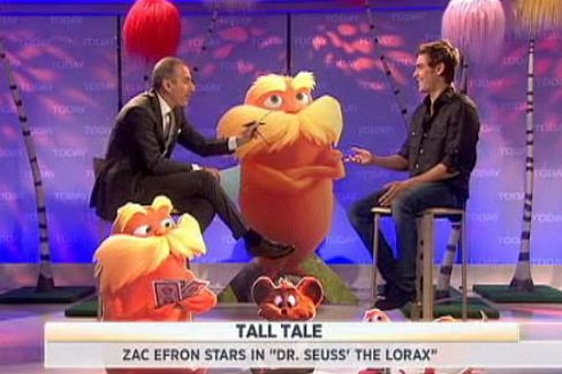 Zach Efron Lorax