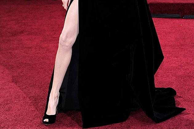 Angelina Jolie leg Oscars