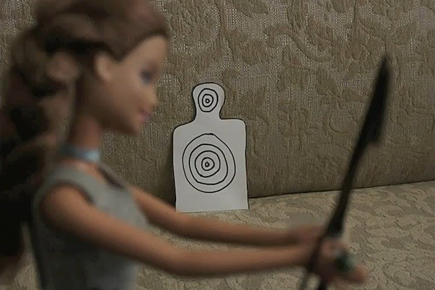 hunger games barbie edition