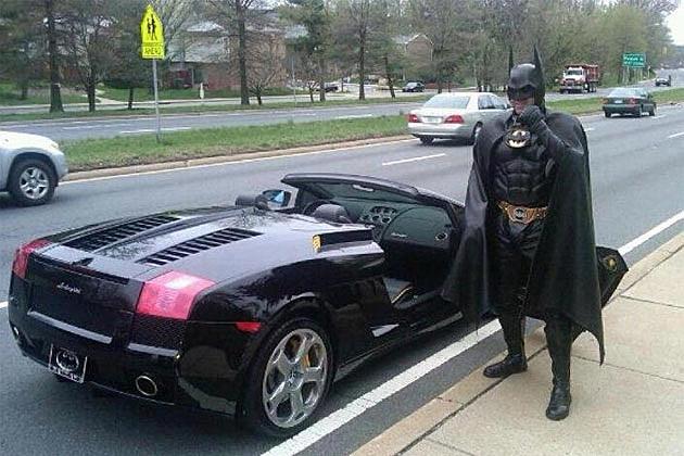 Batman lamborghini