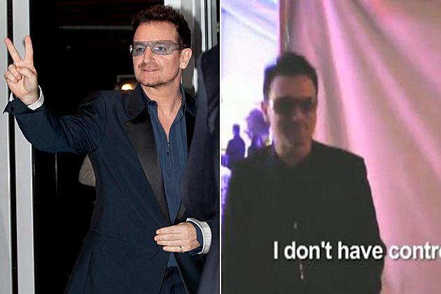 Bono impersonator