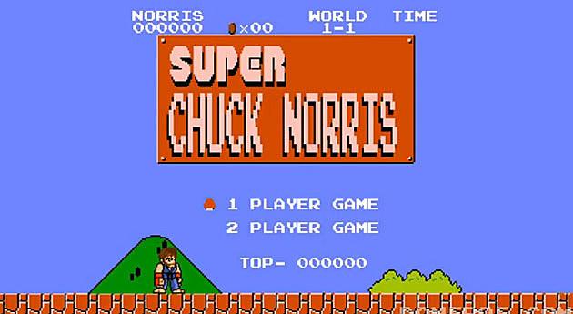 Chuck Norris Super Mario