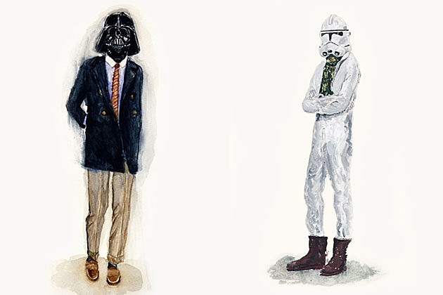 Darth Vader Stormtrooper Etsy art