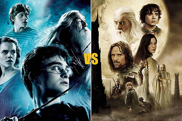 'Harry Potter' vs. 'The Lord of the Rings'