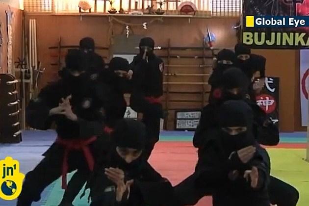 iran ninjas women tehran