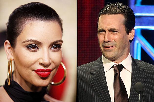 Kim Kardashian vs. Jon Hamm