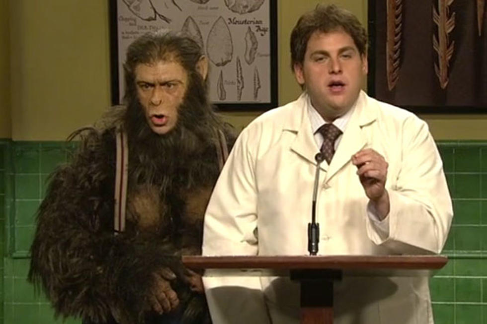 which cast member played brutus the talking monkey in jonah hill s