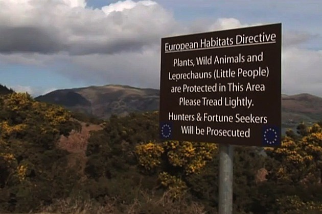 leprechaun sign european union