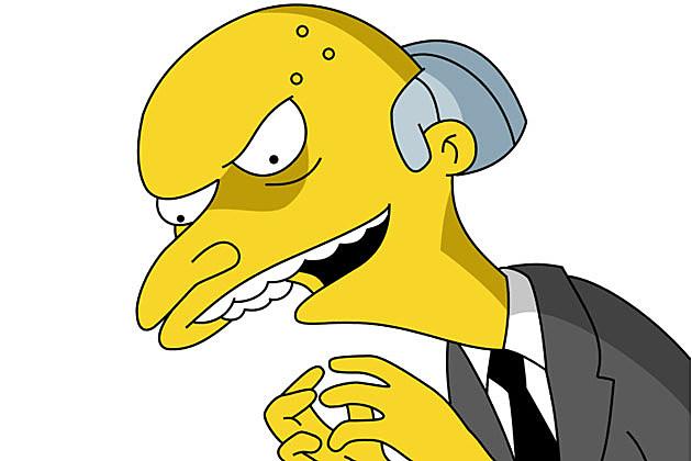 Mr. Burns Simpsons excellent