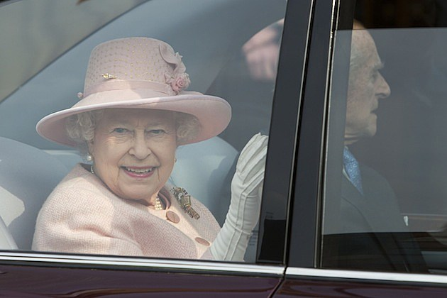 Queen Elizabeth II And Prince Philip, Duke Of Edinburgh Visit Manchester frances and john canning