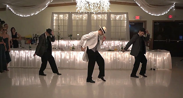 Smooth Criminal wedding dance