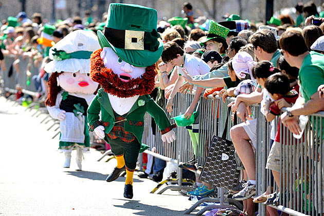 St. Patrick's Day parade in Chicago