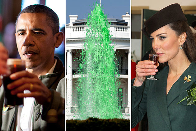 St. Patrick's Day, President Barack Obama and Kate Middleton