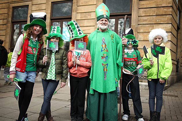 St. Patrick's Day parade in London