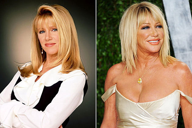 Suzanne Somers from 'Step by Step'