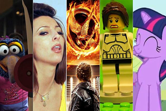 'The Hunger Games' parody videos