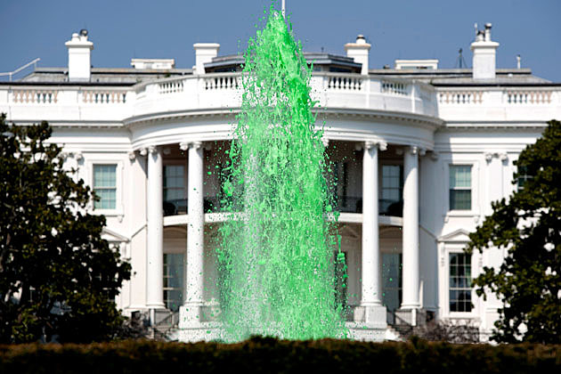 White House on St. Patrick's Day