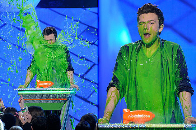 Nickelodeon's 2012 Kids' Choice Awards, Chris Colfer