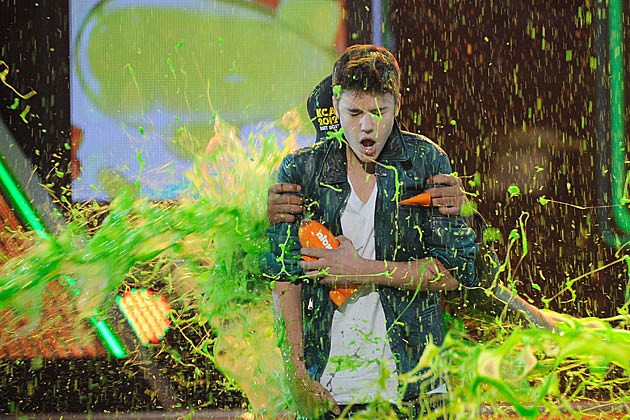 Nickelodeon's 2012 Kids' Choice Awards, Justin Bieber and Will Smith