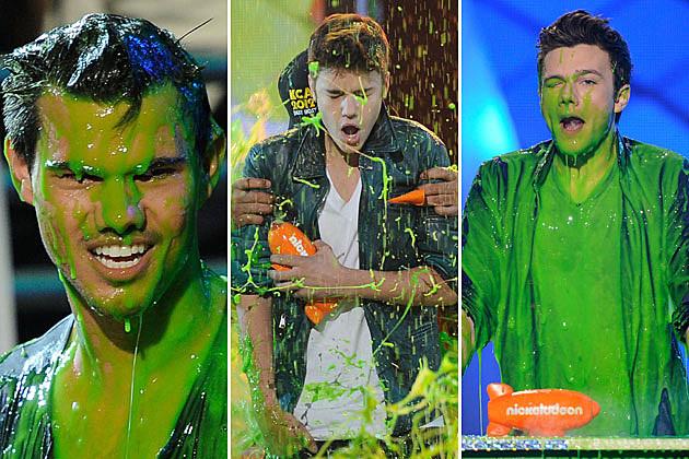 2012 Kids' Choice Awards, Taylor Lautner, Justin Bieber, Chris Colfer