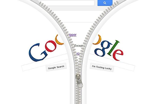 Google Doodle for Gideon Sundback
