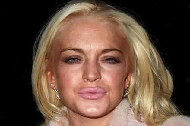 Lohan face morph