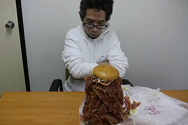 Man Orders Burger King Whopper With 1050 Strips of Bacon