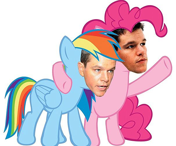 Matt Damon Pony