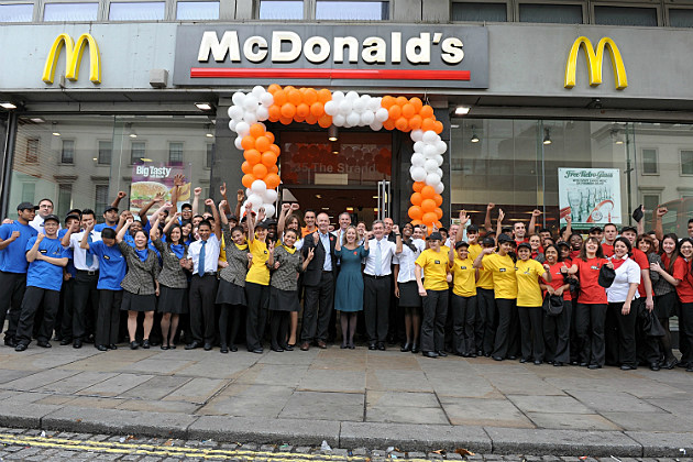 McDonald's 2012 Olympic crew, selected in Nov. 2011.