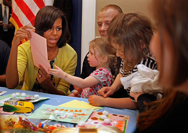 Michelle Obama at Fisher House