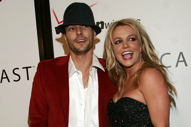 Britney Spears and Kevin Federline in 2006