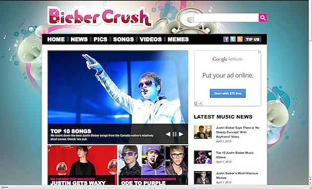 bieber crush