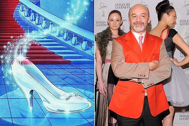 Christian Louboutin's Cinderella Glass Slippers