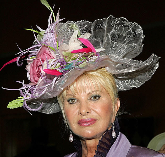 Kentucky Derby Hats - Ivana Trump