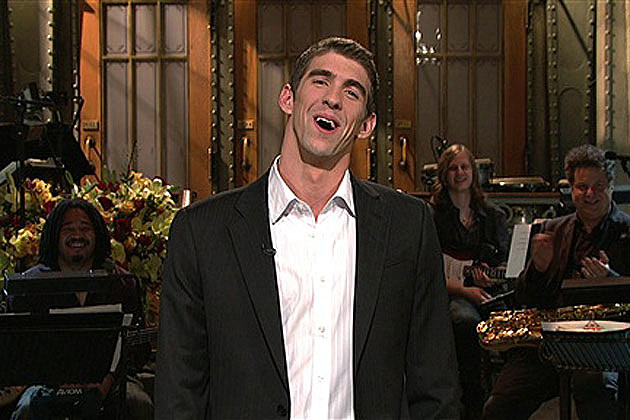 Michael Phelps on 'SNL'